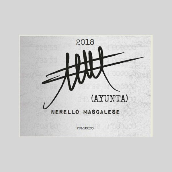 Ayunta Nerello Mascalese Rosso 2018