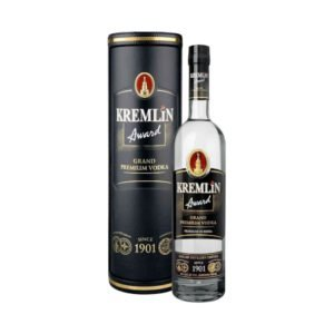 Kremlin Award Grand Premium Vodka With Leather Case