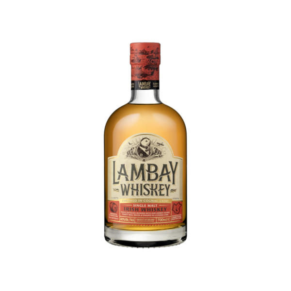 Lambay Single Malt Irish Whiskey Cognac Finish