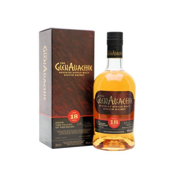 GlenAllachie Speyside Single Malt 18YO