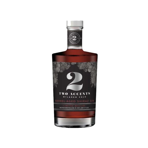 Two Accents Barrel-Aged Shiraz Gin